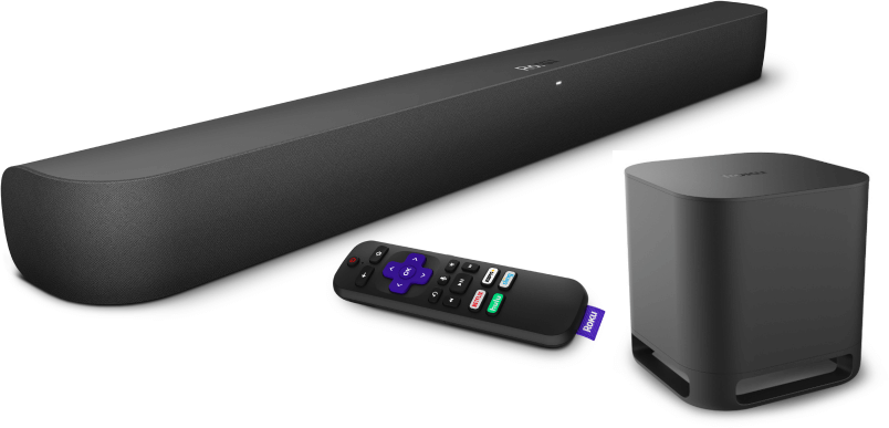 Roku Smart Soundbar & Wireless Subwoofer
