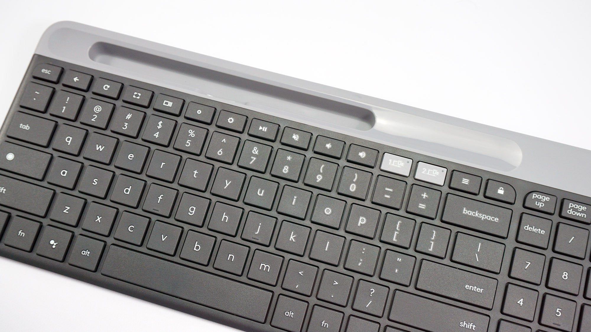 The Logitech K580 keyboard.