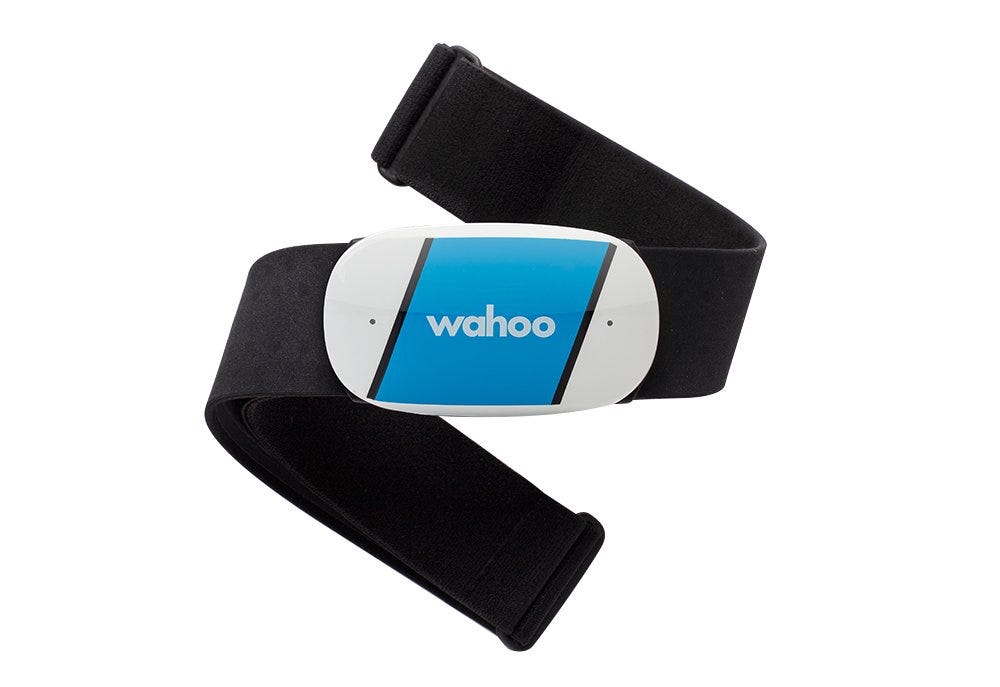 The Wahoo TICKR chest HR tracker