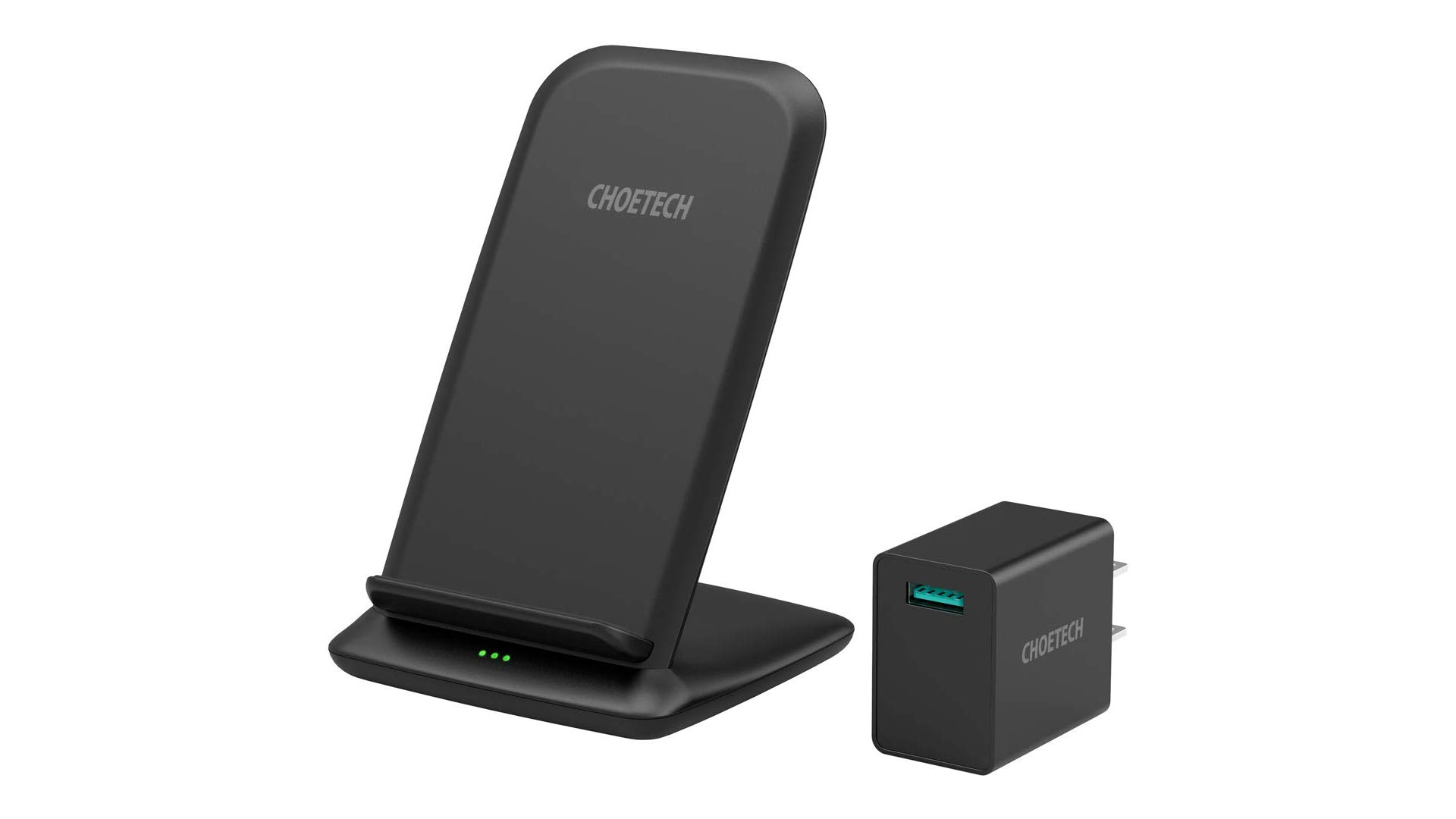 The CHOETECH wireless charging stand