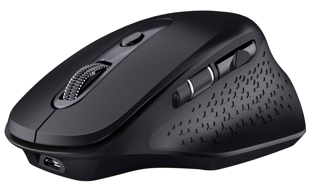 VicTsing's premium mouse from the side.