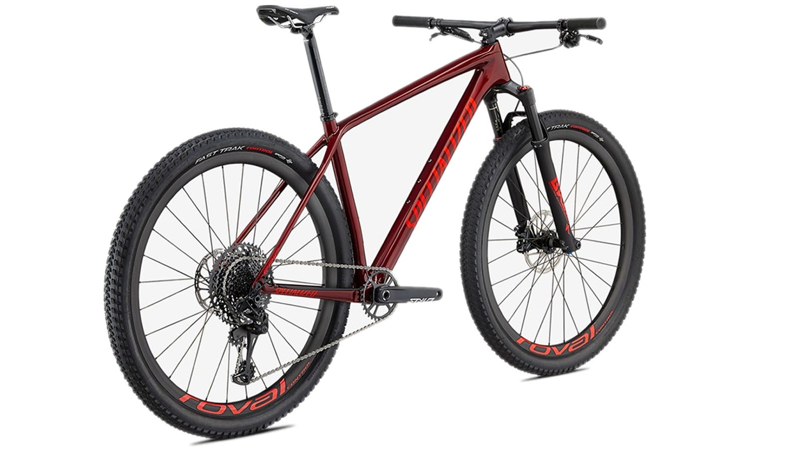 The Specialized Epic Hardtail Expert mountain bike.