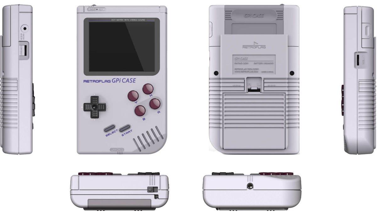 Retroflag raspberry pi Game Boy case