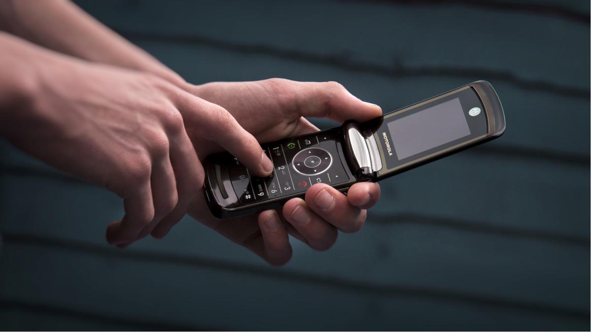 The original Motorola Razr