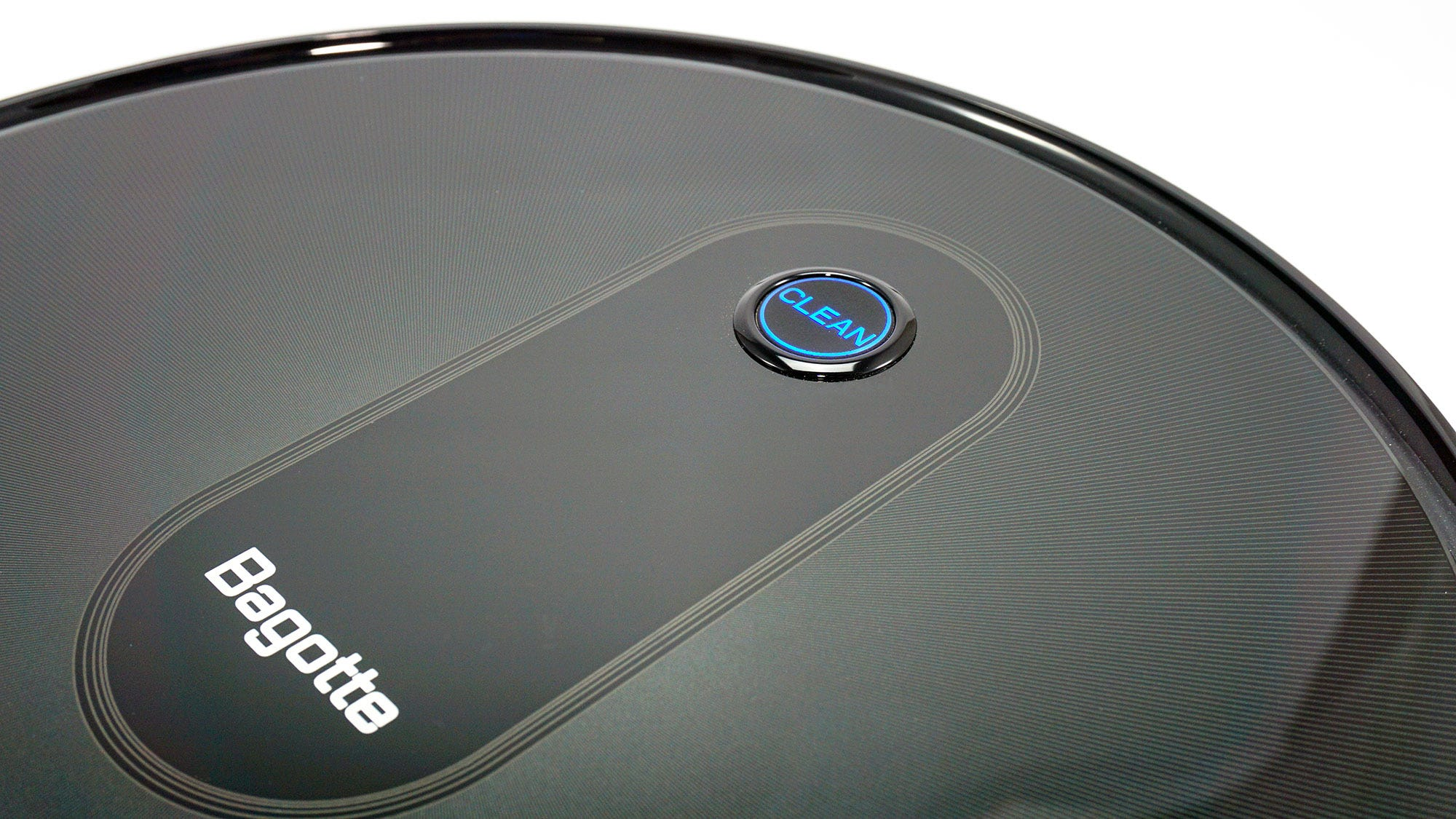 The main button and logo of the BG600.