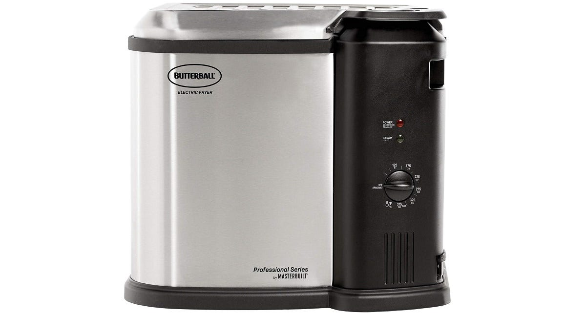 The Masterbuilt Butterball XL Electric Fryer