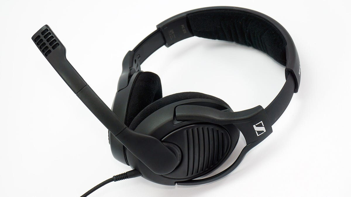 The Massdrop Sennheiser PC37X headset.