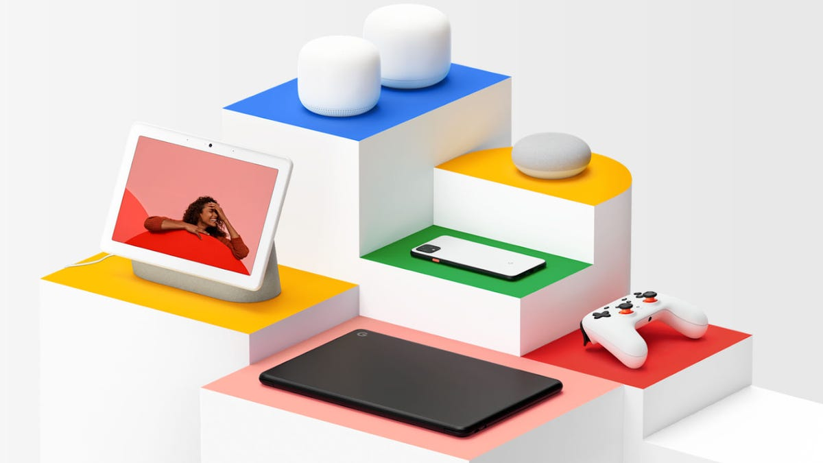 Google's newly-announced products.