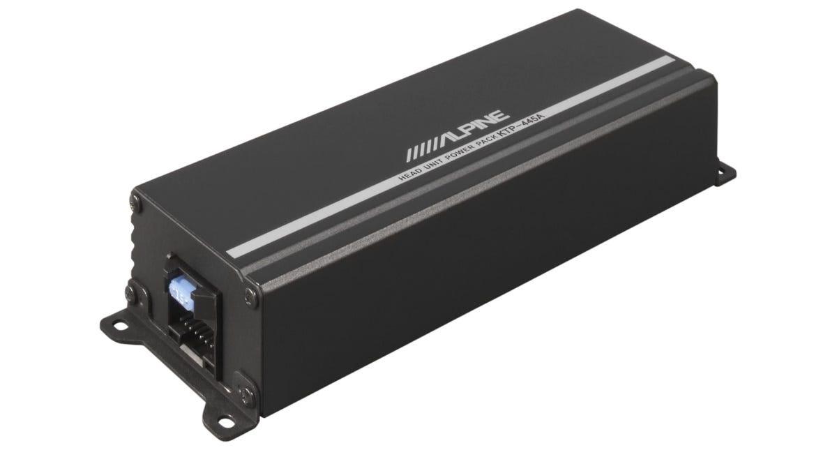 The Alpine KTP-445A Mini-Amplifier.