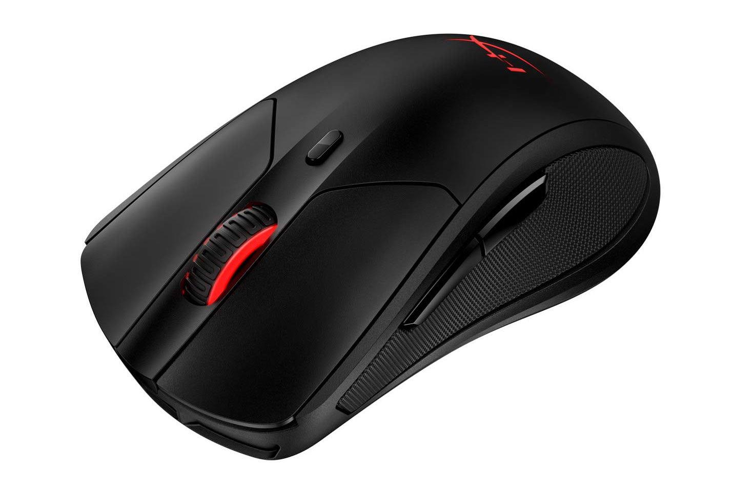 The HyperX Pulsefire Dart mouse.