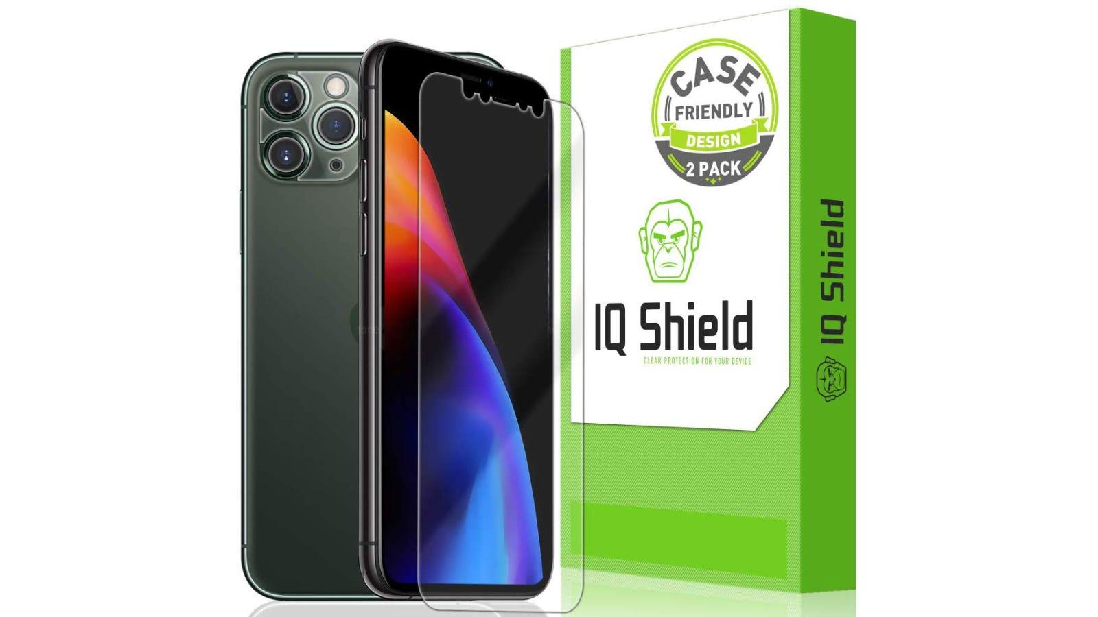 IQ Shield iPhone 11, 11 Pro, and 11 Pro Max Screen Protectors