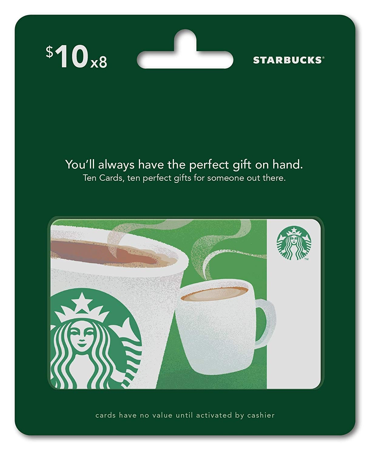 a Starbucks gift card.