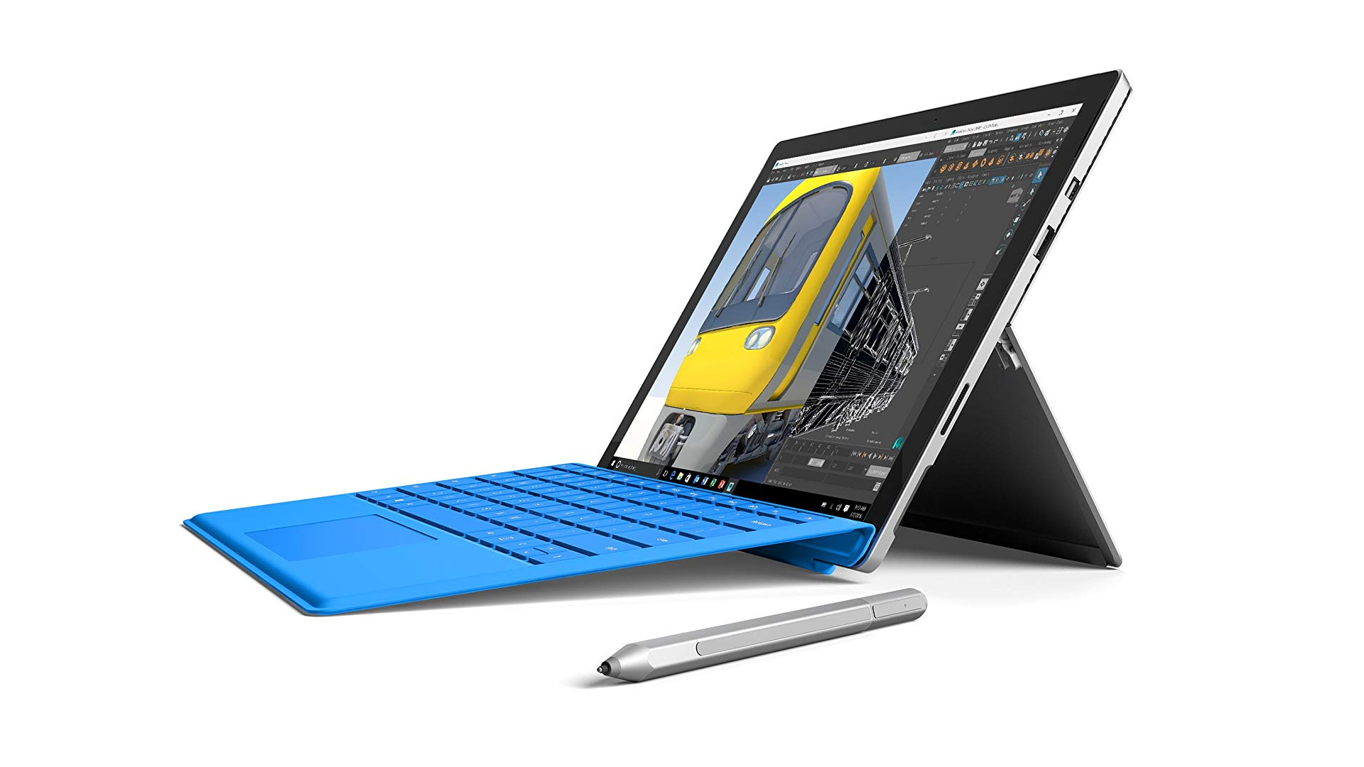 A Refurbished Surface Pro 4 and Surface Pen.