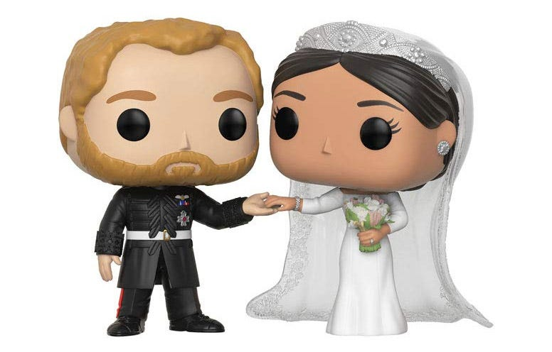 a Funko Pop royal wedding set of figures.
