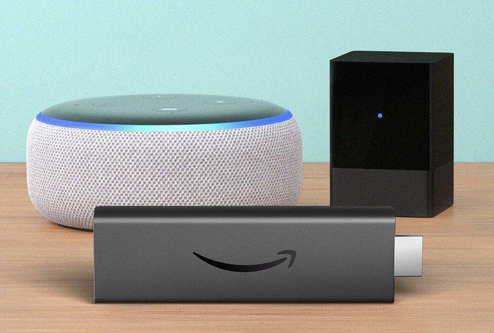 Amazon Fire TV, Fire TV Blaster, Echo speaker