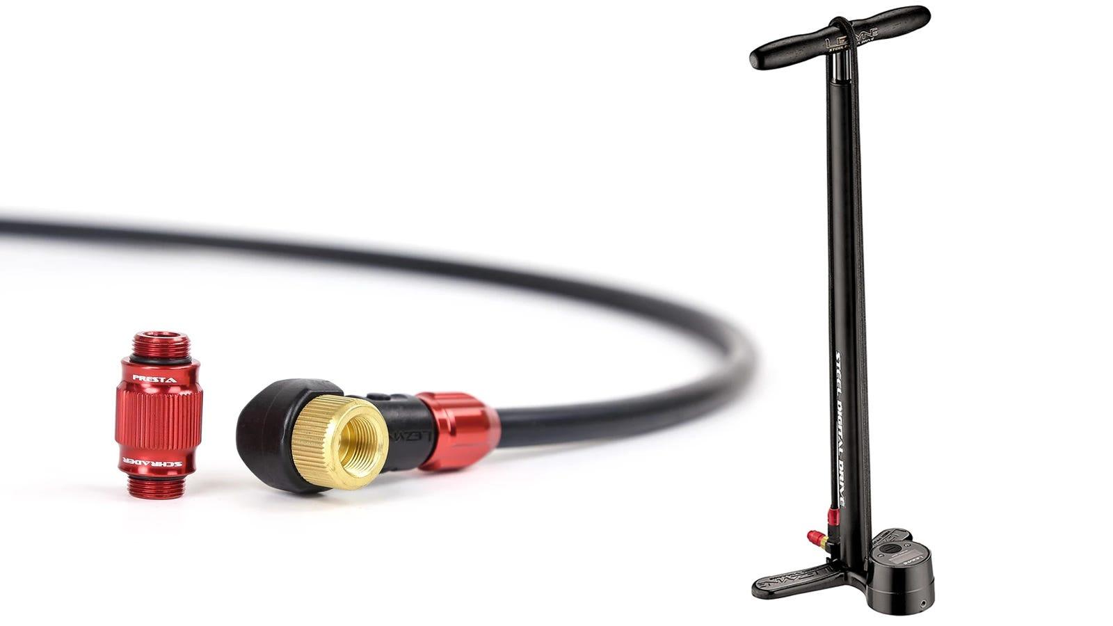 Lezyne Steel Digital Drive Bike Floor Pump