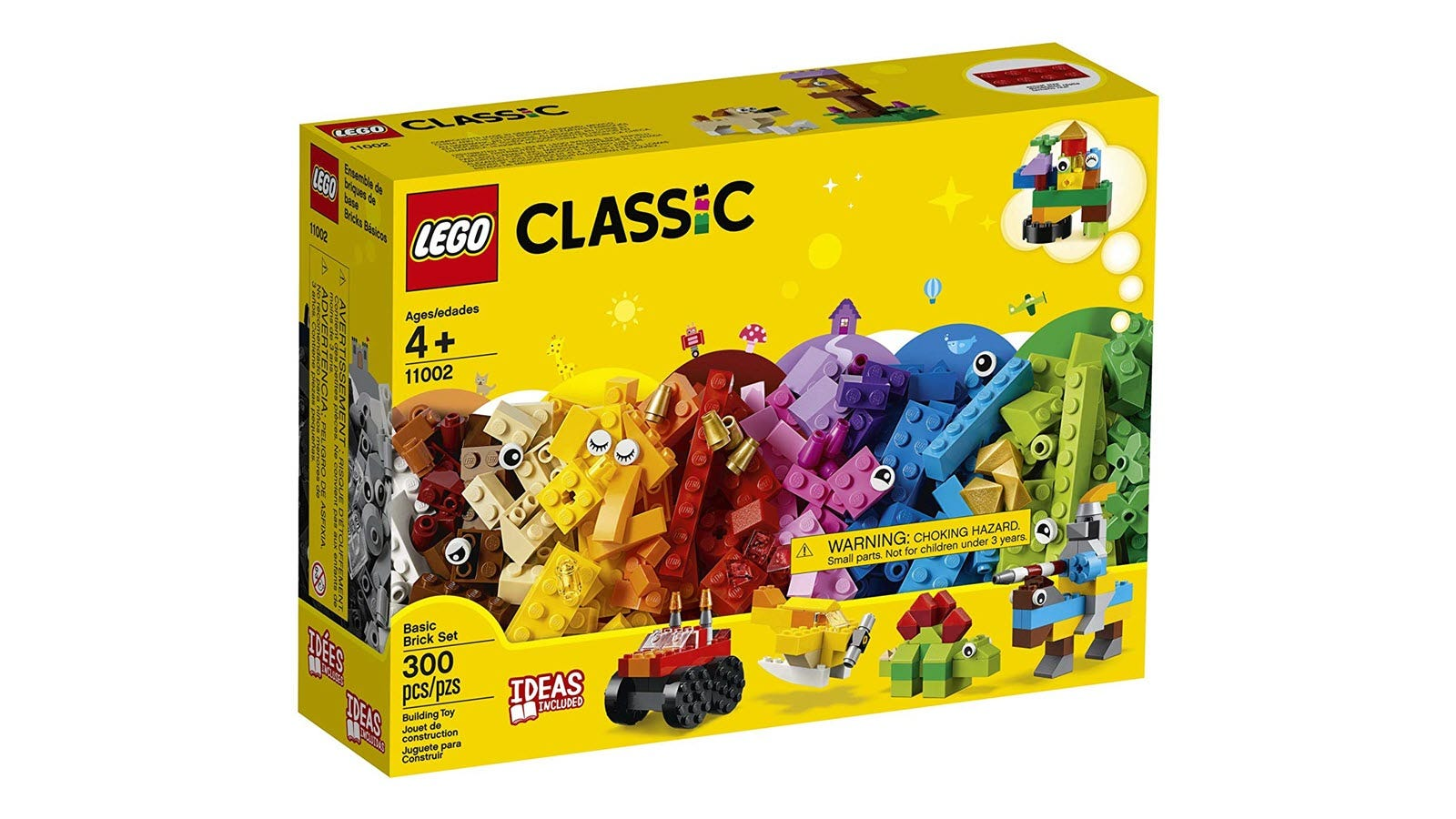 Classic LEGO set with a bunch of bricks