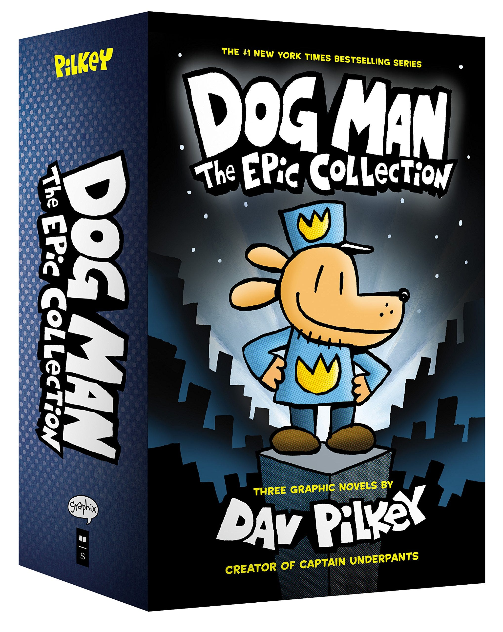 Dog Man The Epic Collection boxed set.
