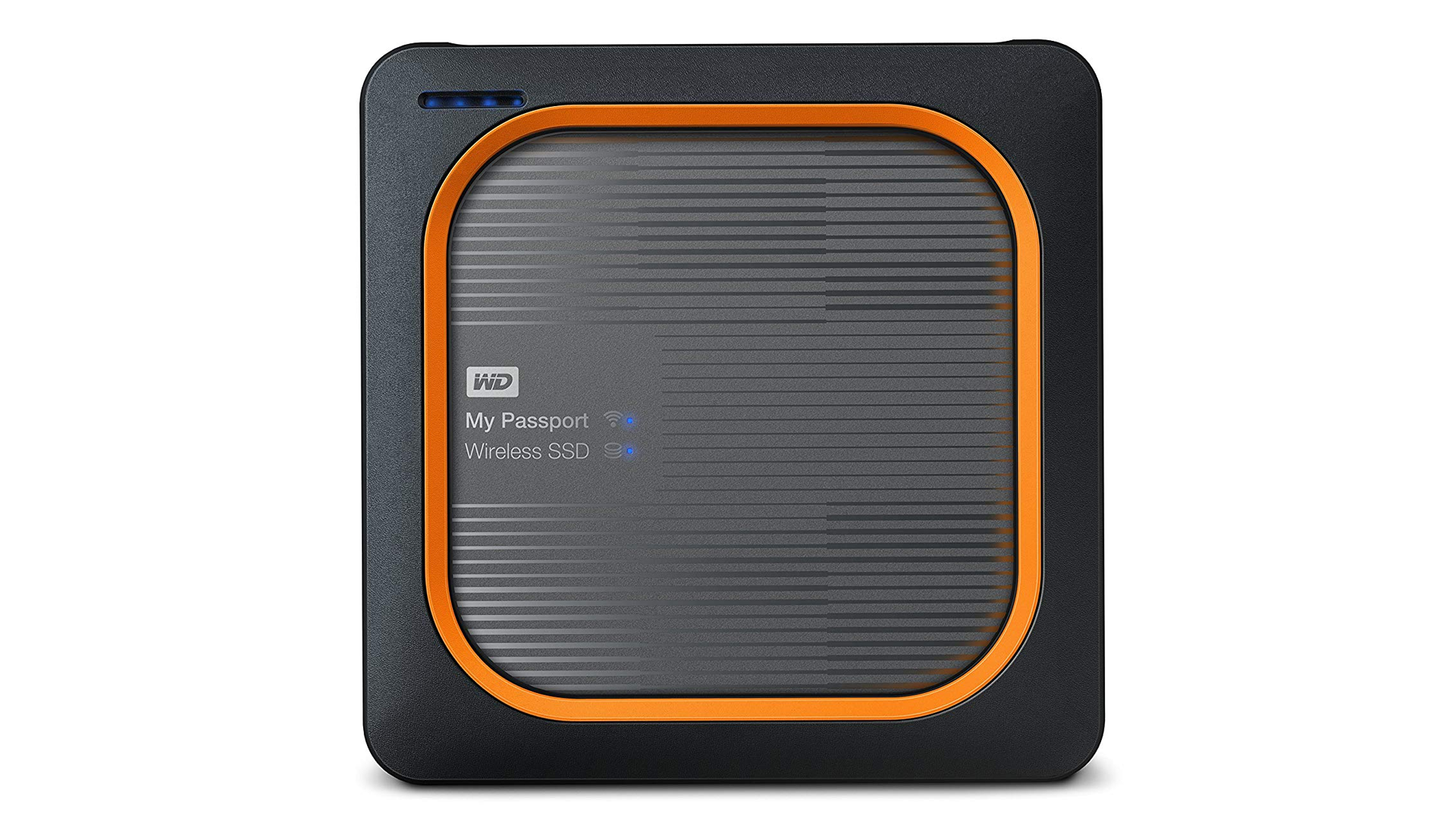 The WD wireless portable SSD.