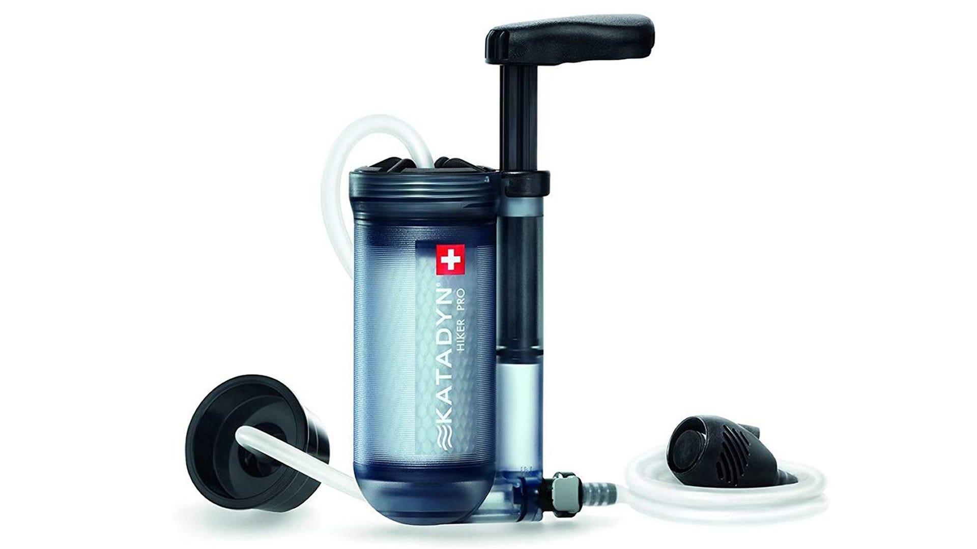 Katadyn Hiker Pro backpacking water filter