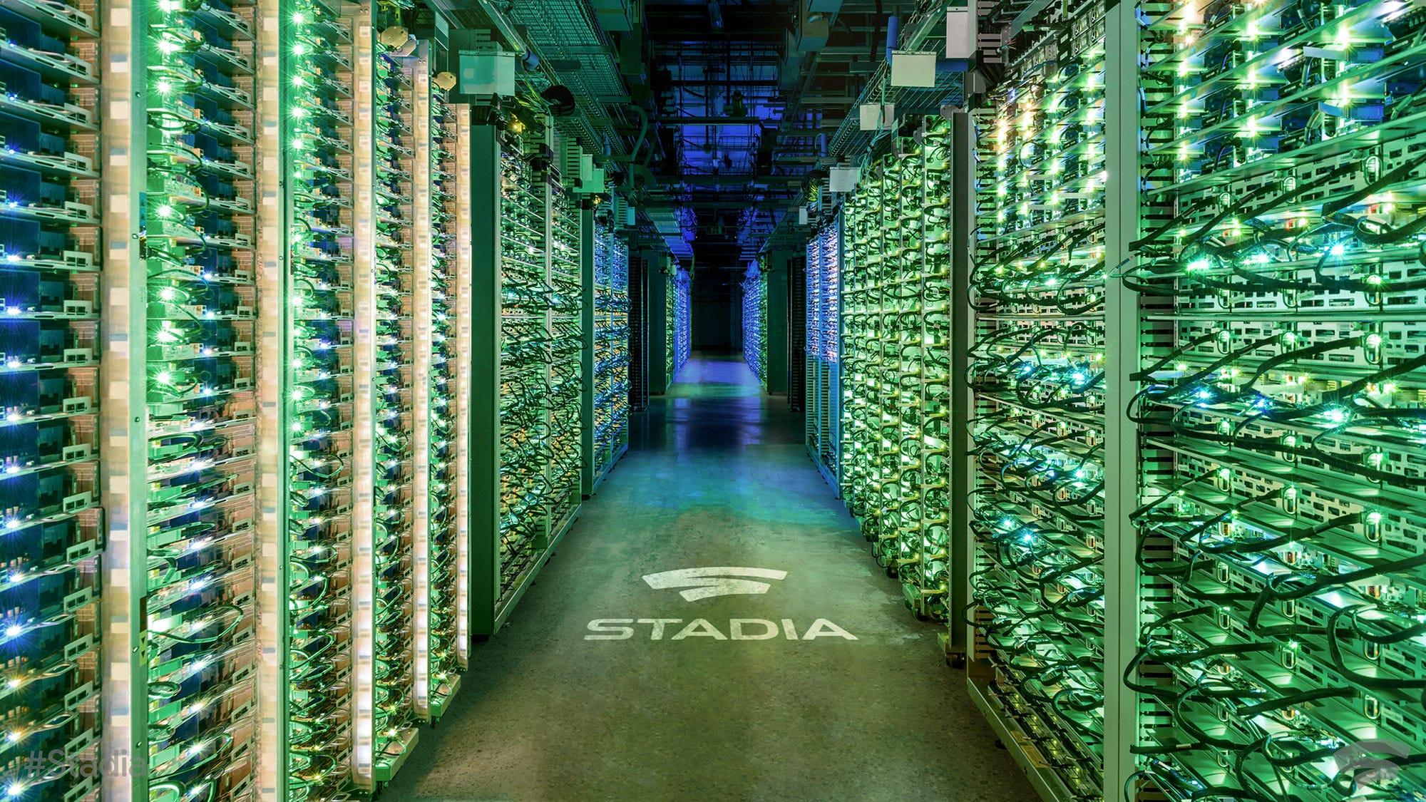 A Stadia data center.