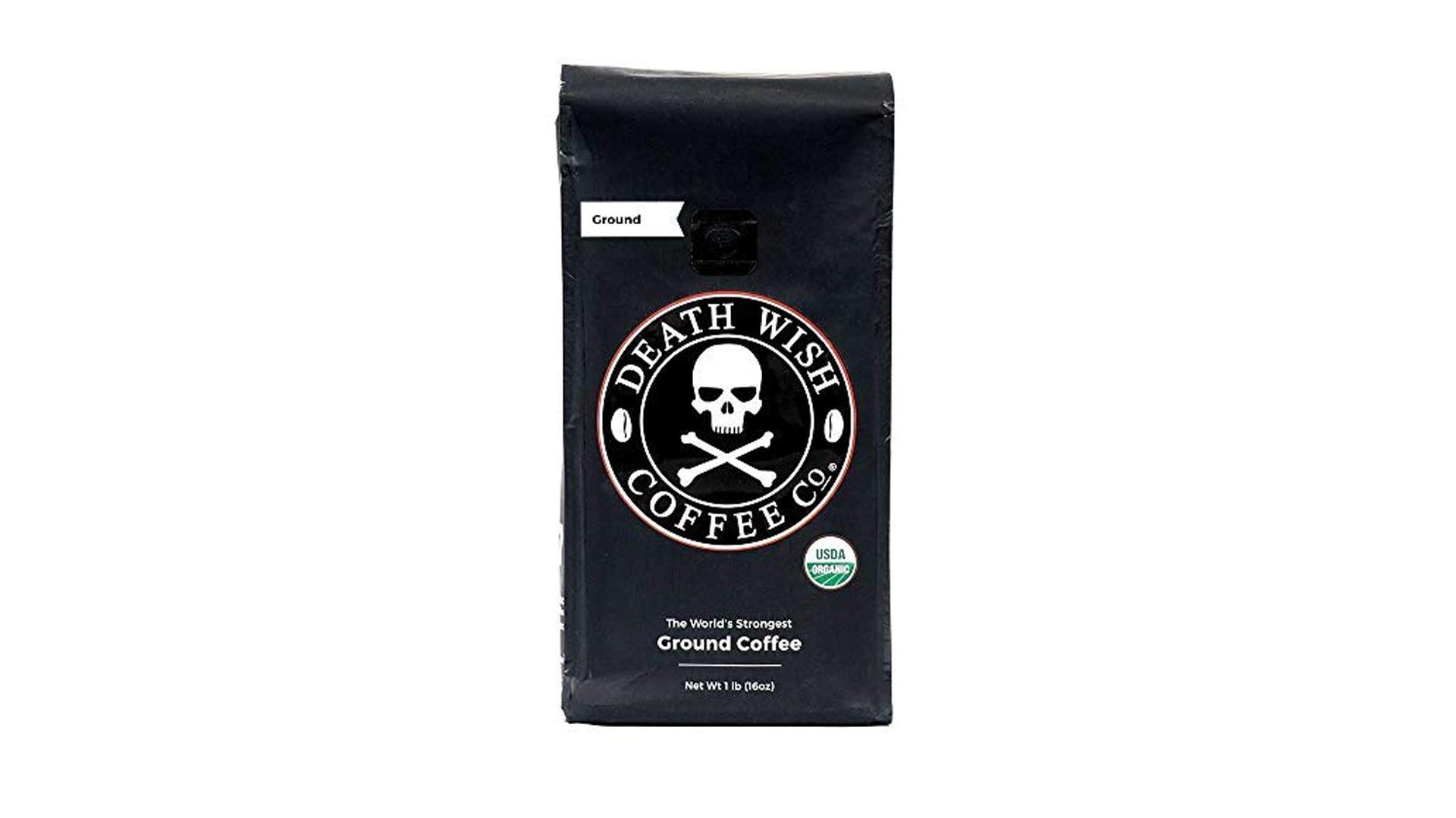 The Death Wish coffee.