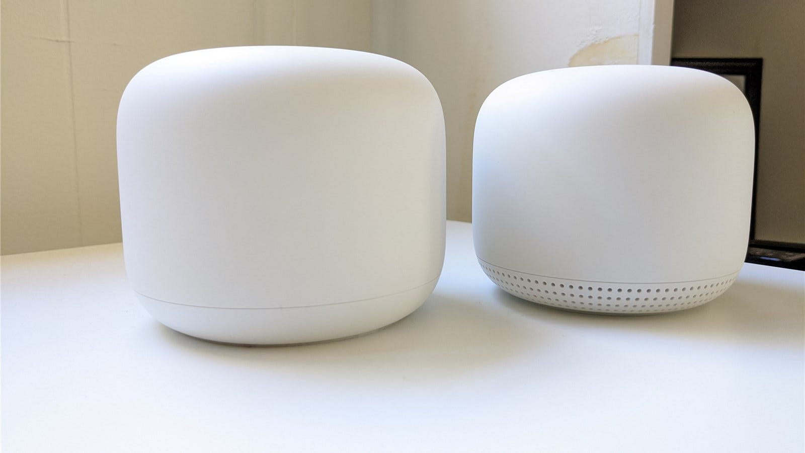 Nest Wifi router and point