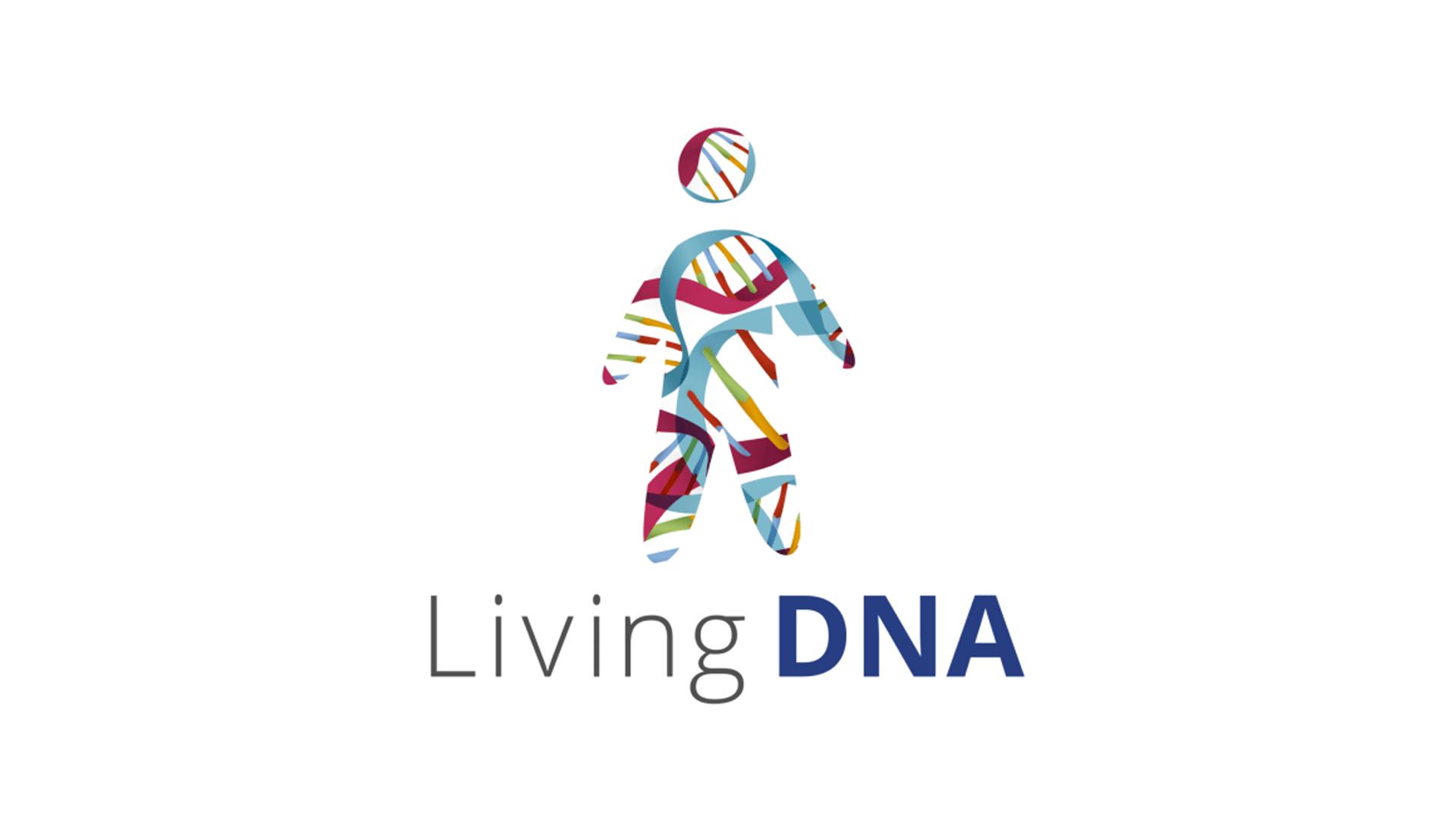 The Living DNA Logo.
