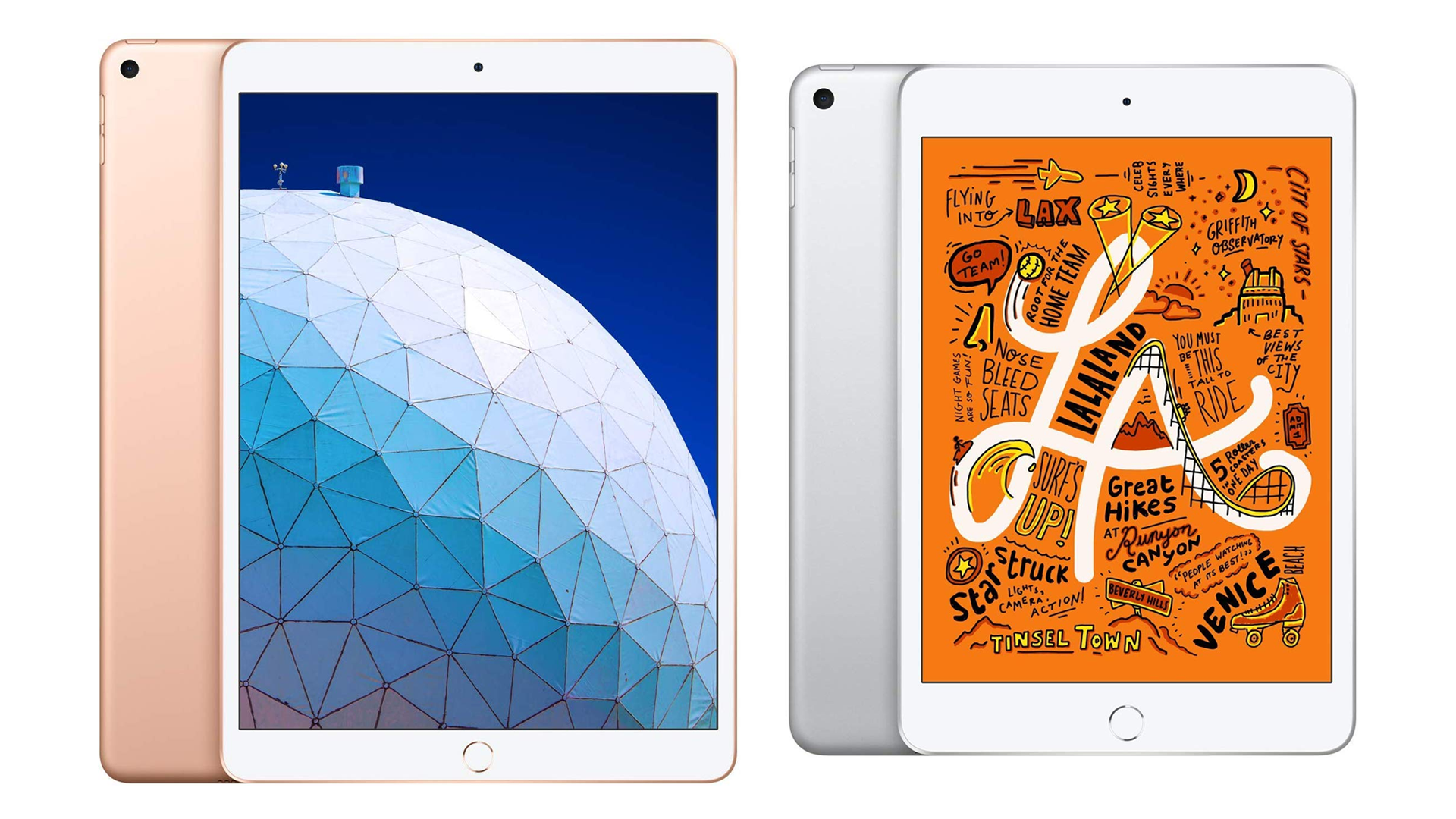 The iPad Air and iPad Mini