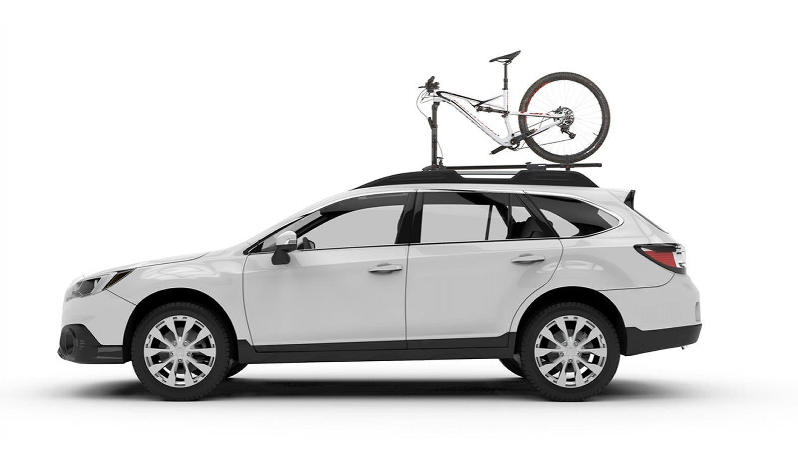 Yakima roof rack bike rack