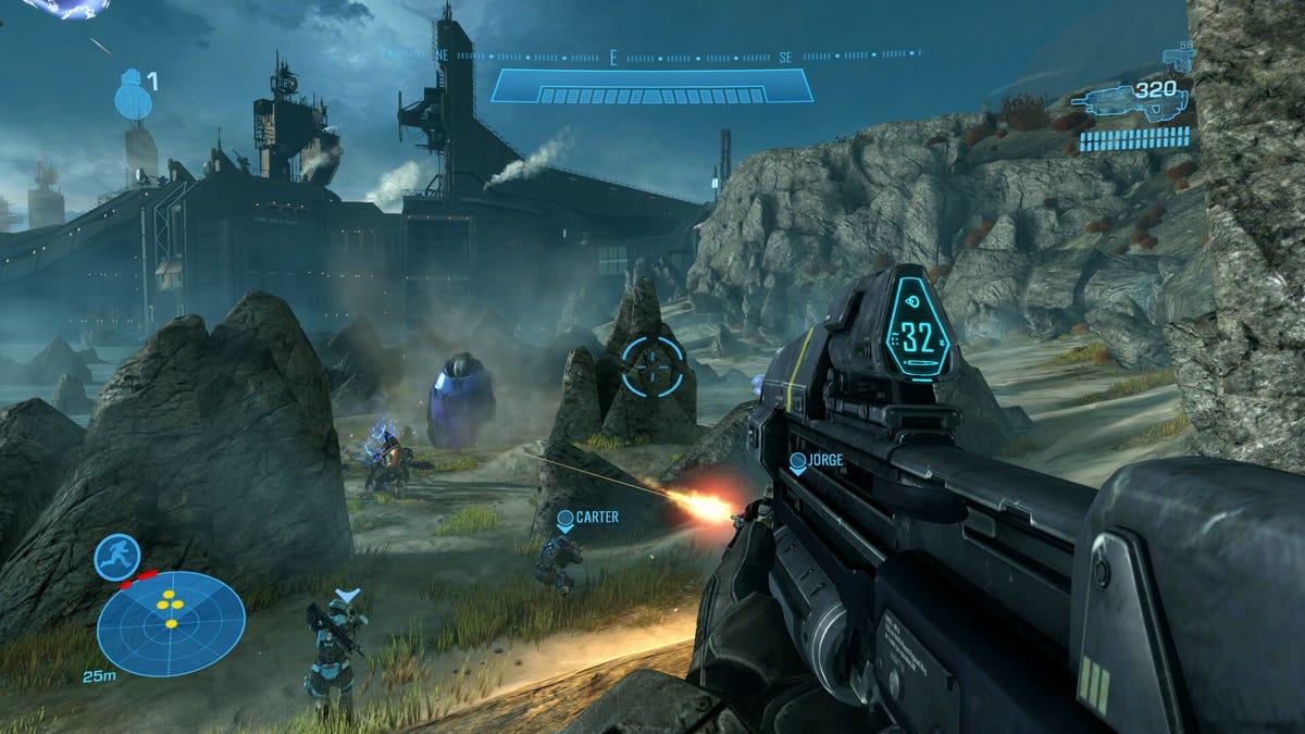 Halo gameplay