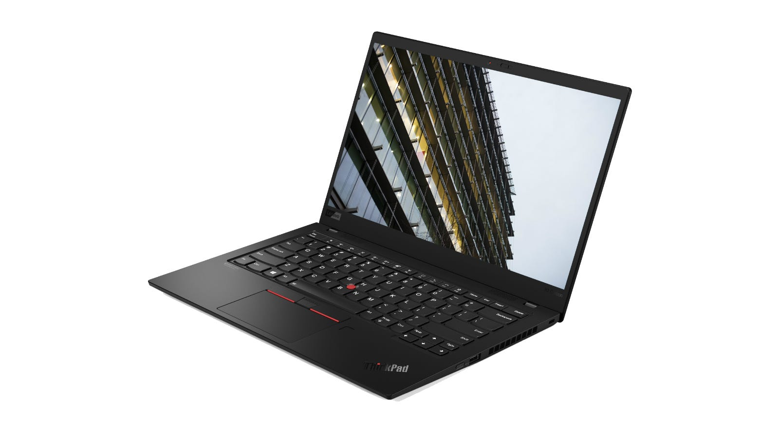 Lenovo ThinkPad X1 Carbon 8th Generation from the side