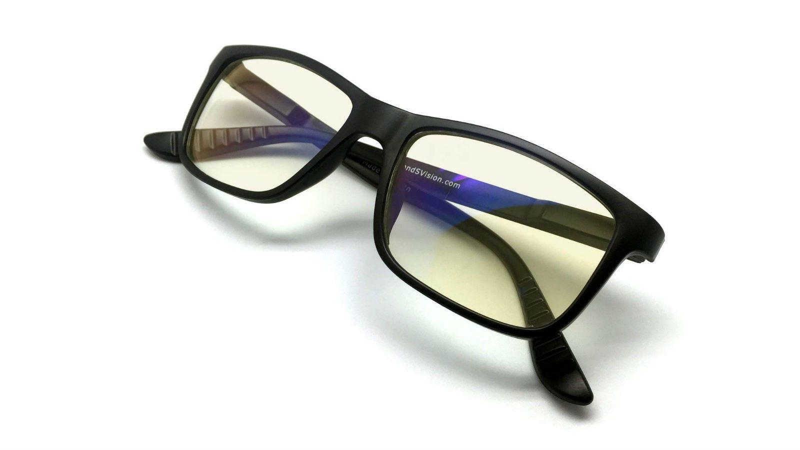 J&S Vision Blue Light Shield Computer/Gaming Glasses
