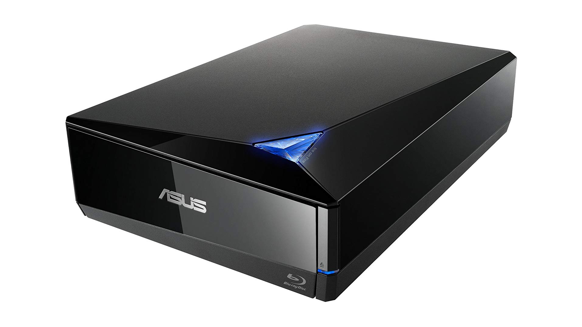 The ASUS 16X Blu-Ray drive