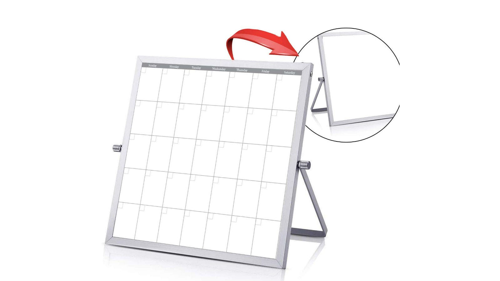 Phoenix Planner Small Dry Erase White Board Calendar