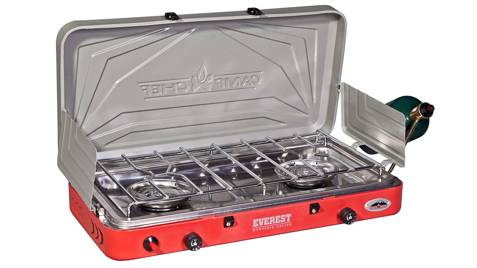 Camp Chef Everest suitcase camp stove