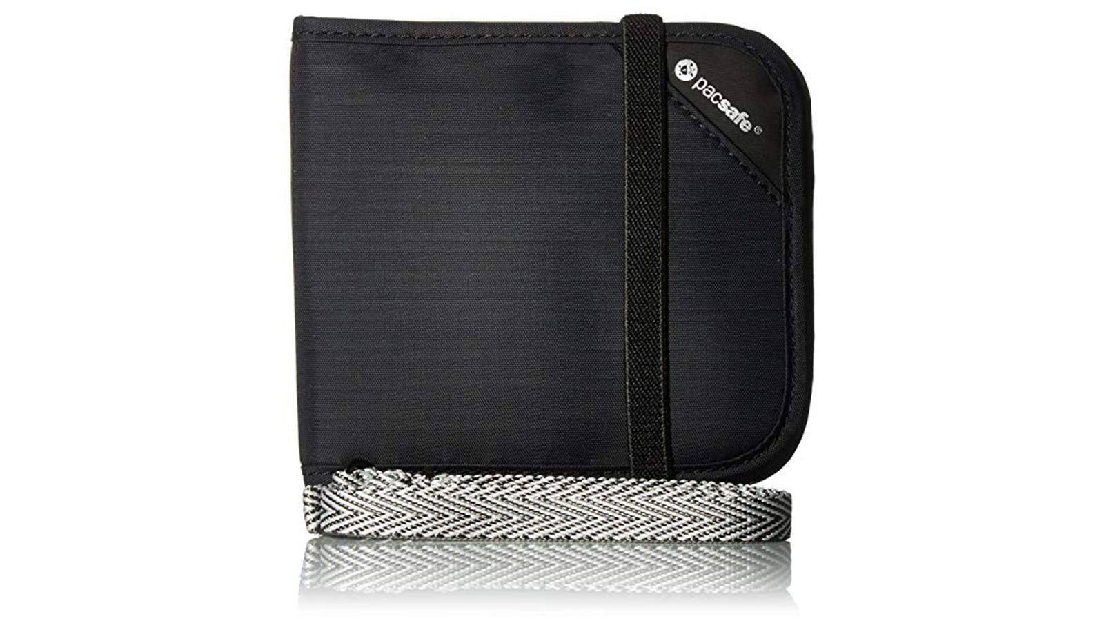 Pacsafe Rfidsafe V100 Anti-Theft RFID Blocking Bi-fold Wallet