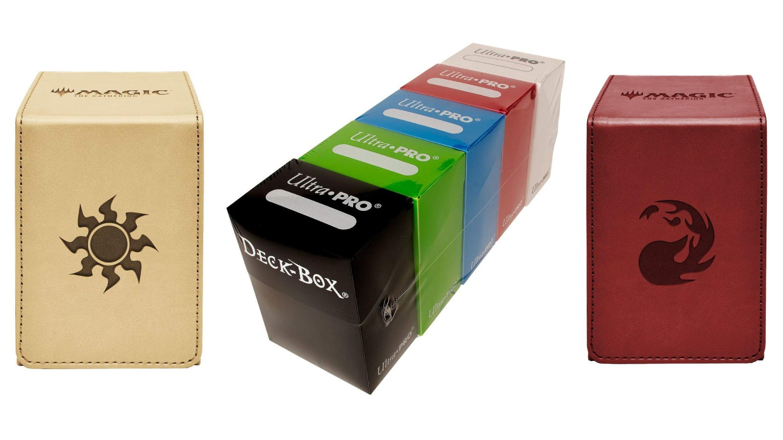 Ultra Pro Magic the Gathering Alcove Deck Boxes and Assorted Plastic Ultra Pro Deck Boxes