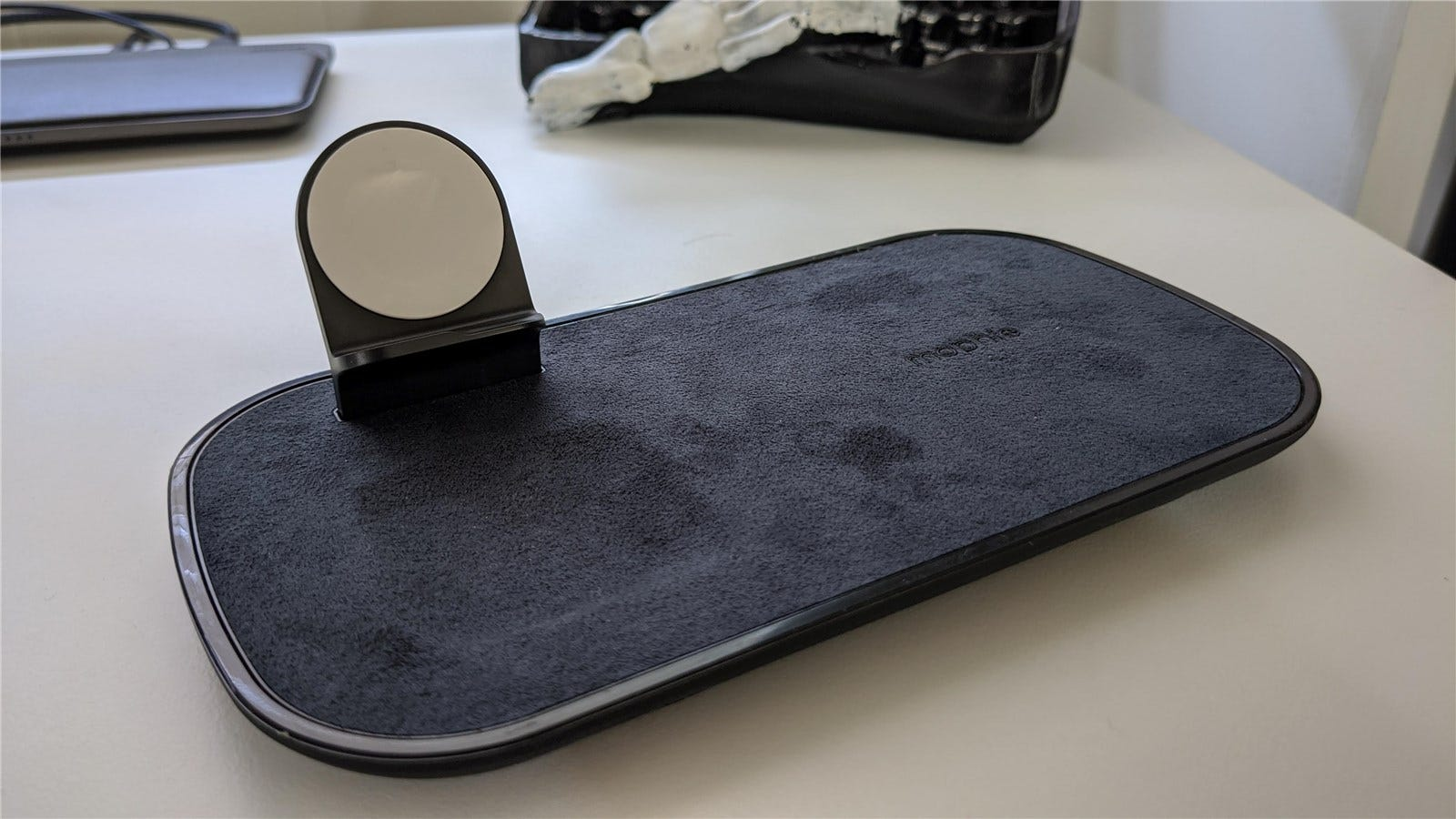 The Mophie 3-in-1 Wireless Charging Pad