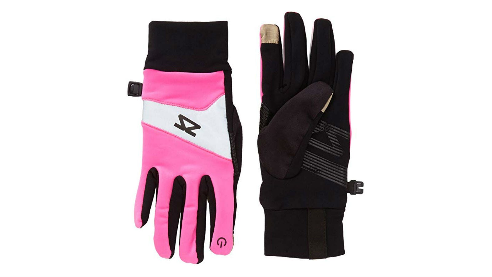 Zensah Reflective Touch Screen Running Gloves
