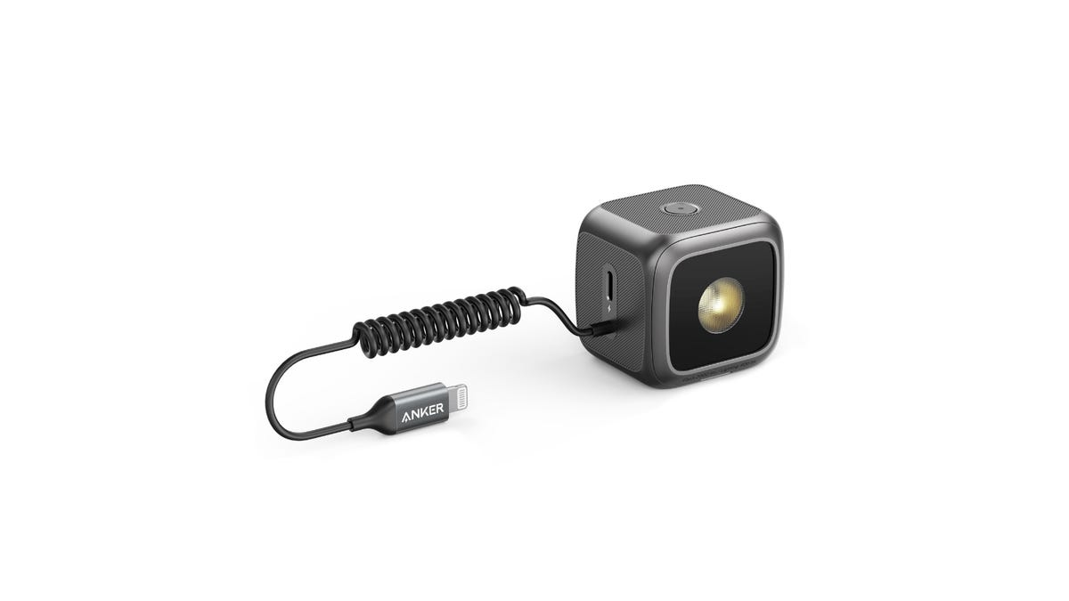 Anker iPhone LED Flash from the side