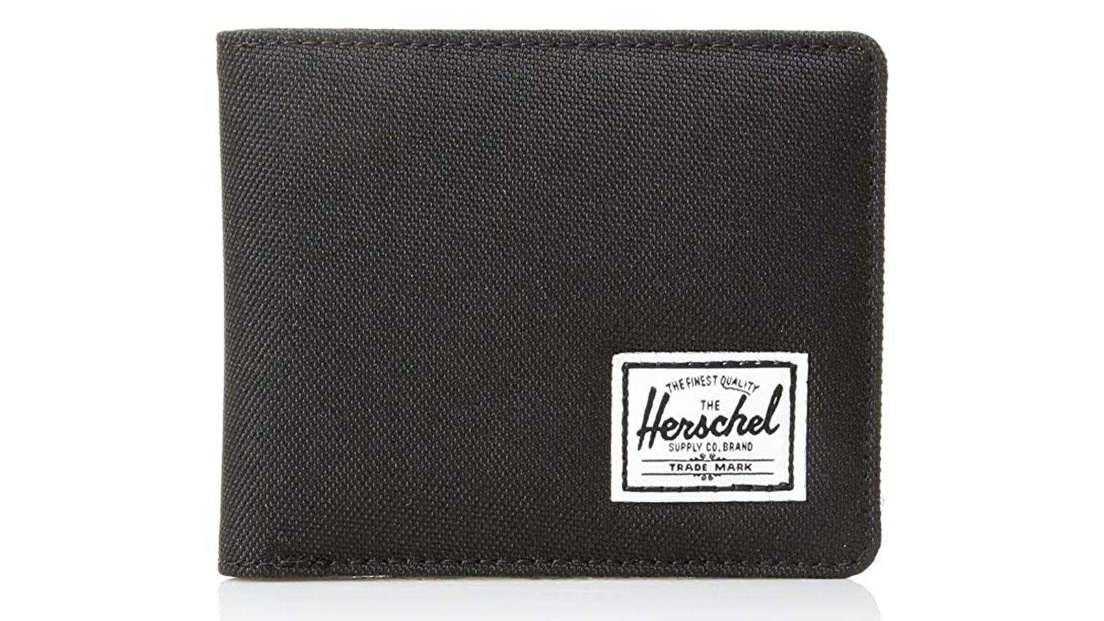 Herschel Men's Hank RFID Bi-fold Leather Wallet