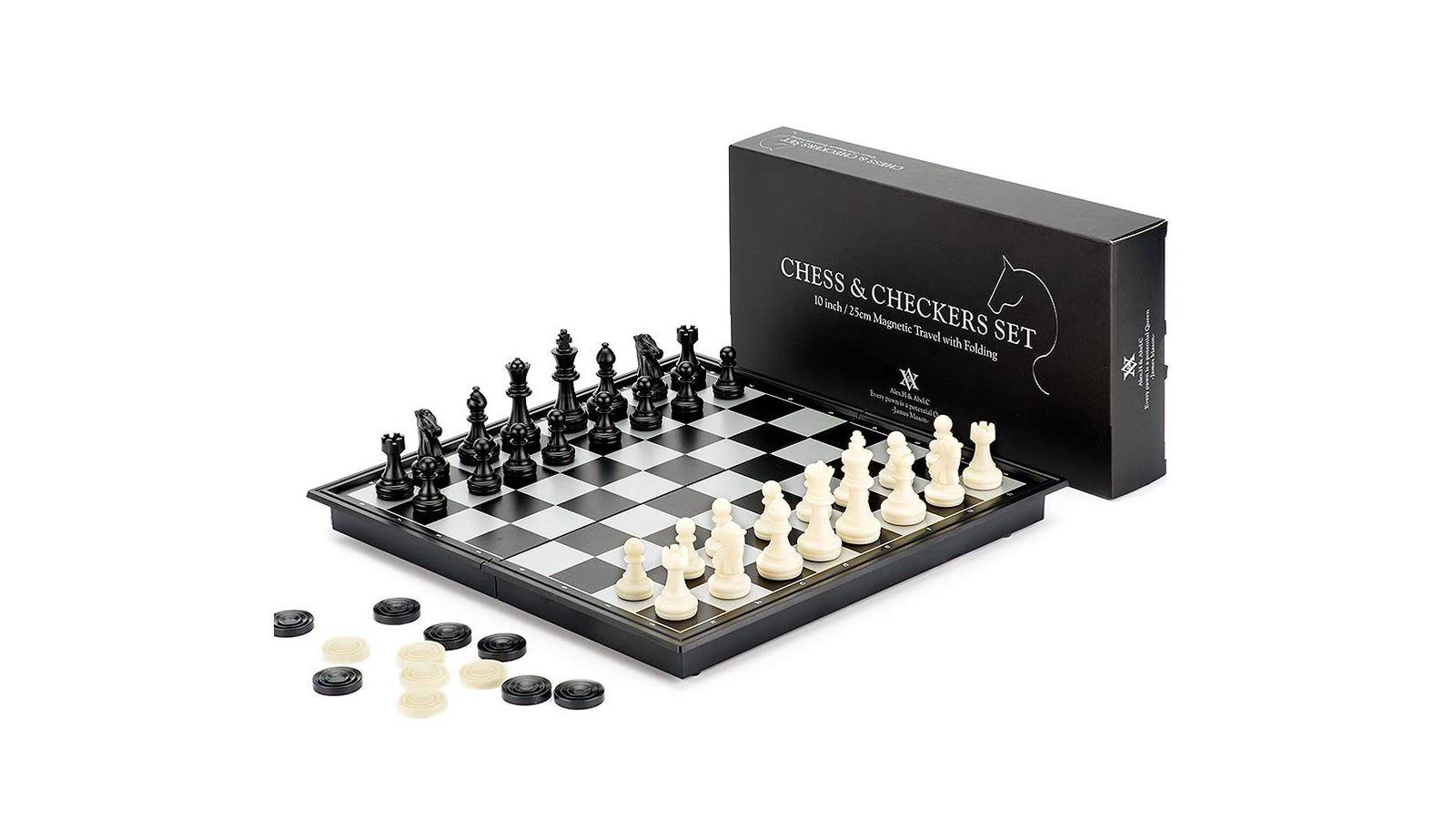 A&A ALEX.H & ABEL.C Folding Chess Set
