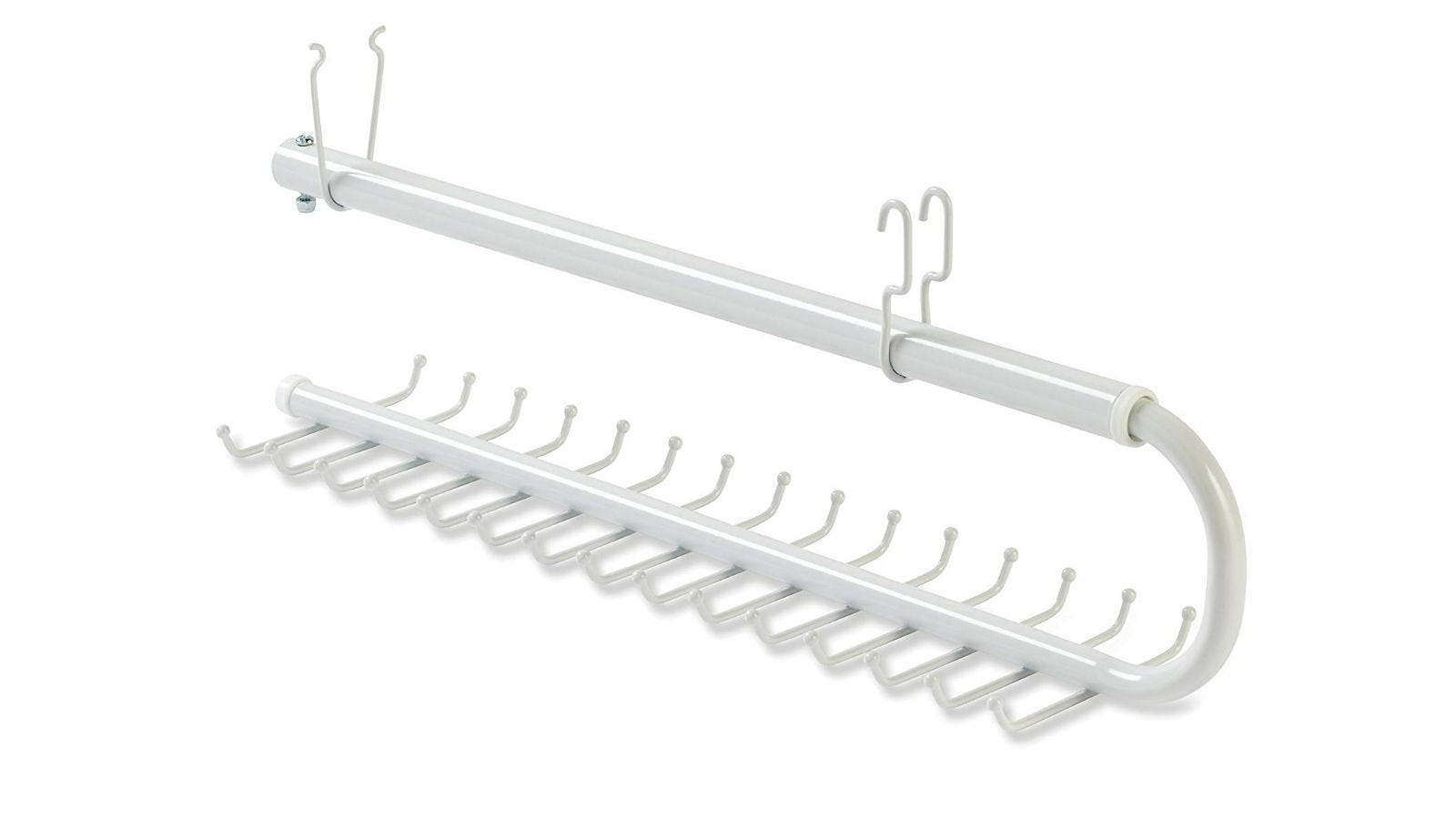 Rubbermaid Fast Track Tie and Belt Holder