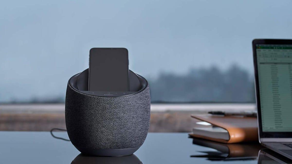 Soundform Elite Hi-Fi Smart Speaker + Wireless Charger