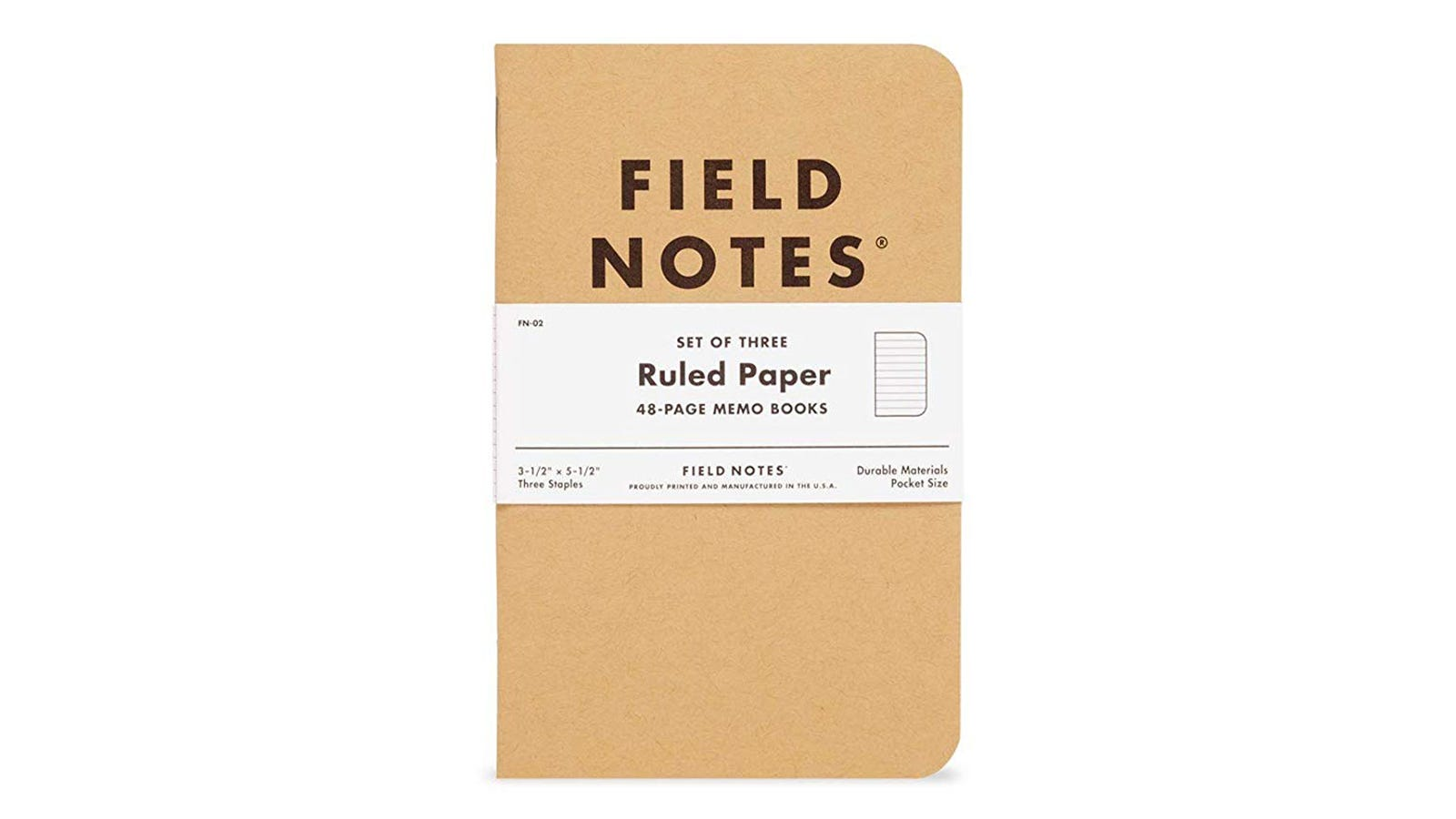 The Field Notes Notebook.