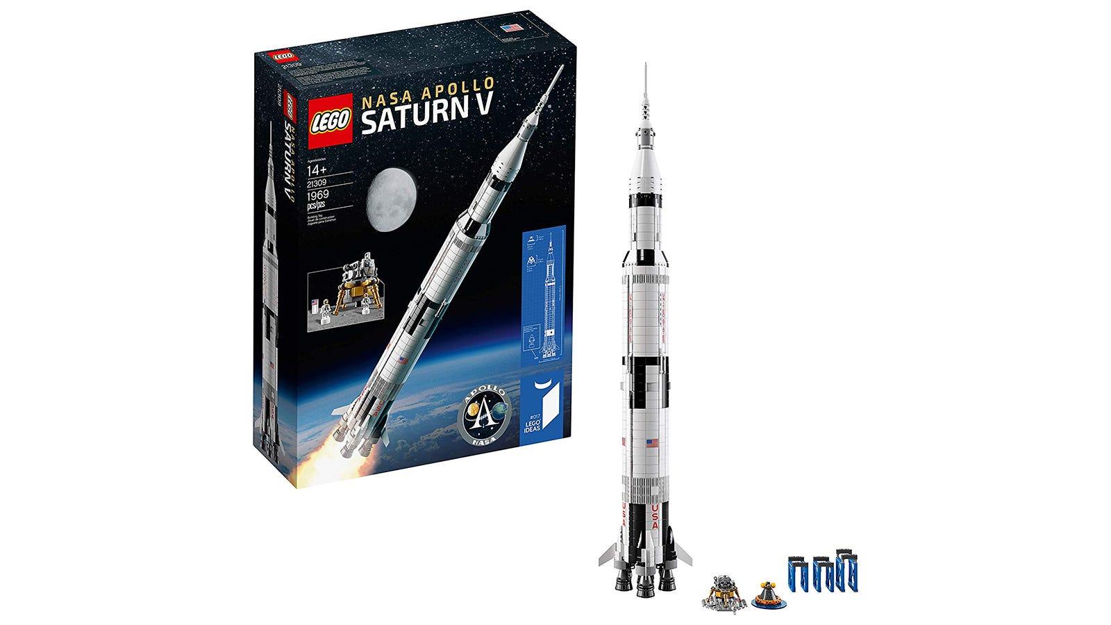 LEGO Ideas NASA Saturn V