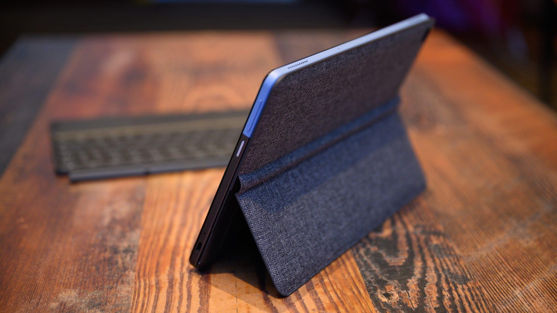 Lenovo IdeaPad Duet Kickstand Open