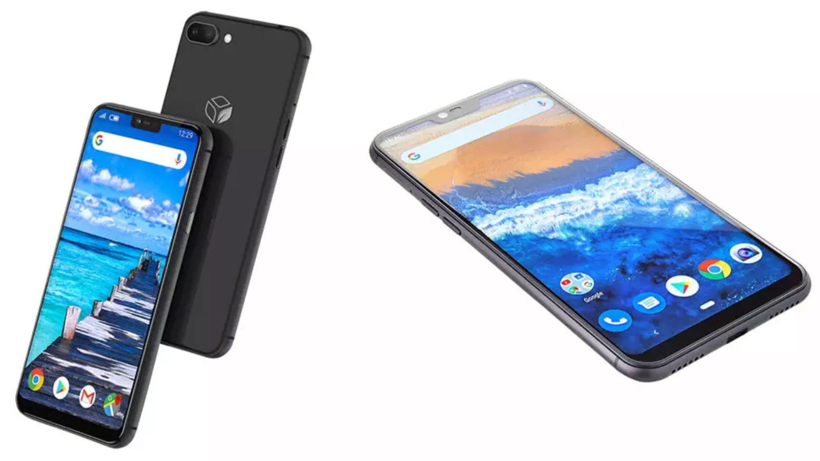 Teracube smartphone floating