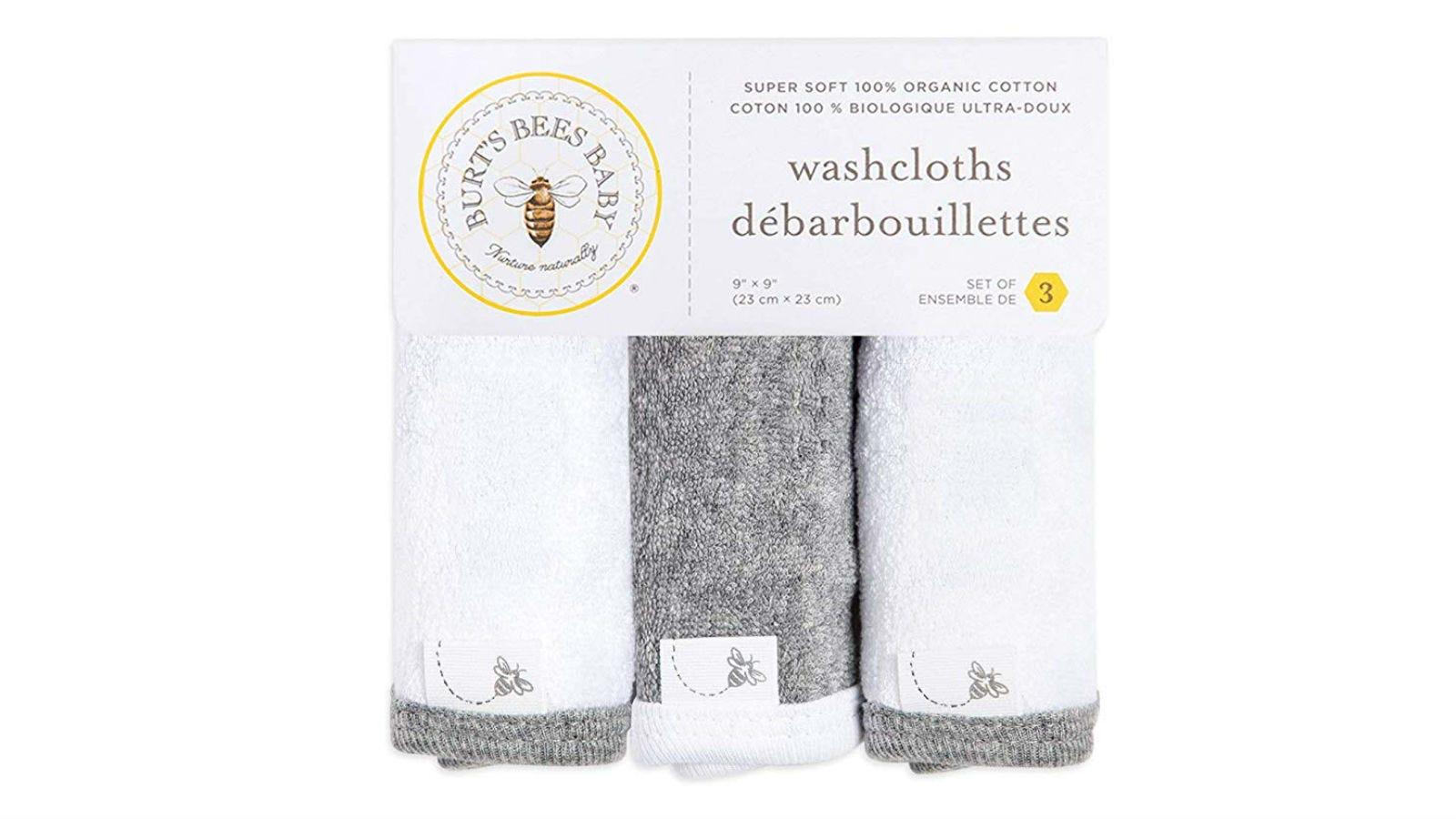 Burt's Bees Baby Wash Cloths